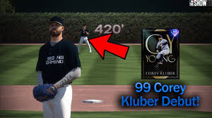 99 Corey Kluber Debut! MLB The Show 20 ...