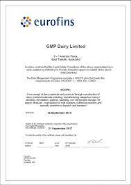Gmp Dairy