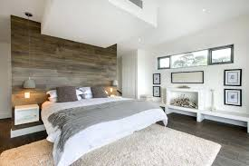 view in gallery relaxing bedroom with an accent wall of recycled wood grey ideas tips grey accent wall bedroom
