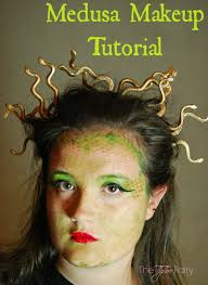 medusa face painting tutorial for