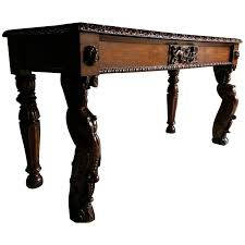 antique hall table. Antique Hall Table Gothic Carved Oak Victorian 19th Century For Sale Antique Hall Table 9