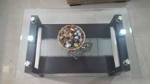 glass table top view. Godrej Interio Glass Top Centre Table - Mumbai View