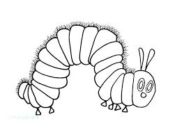 Caterpillar Coloring Page Cartoon Caterpillar Coloring Pages