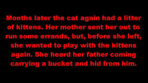 scary stories for halloween god took them kittens scary stories for halloween god took them kittens