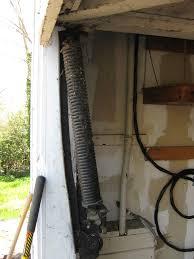 huge springs on a one piece tilt up door in lafayette ca
