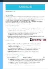 Resume Format 2017 Gorgeous Combination Resume Sample 60 Example Examples Hybrid Format