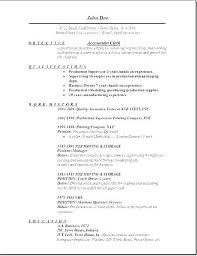 Sample Accountant Resume Adorable Sample Of Resume For Accountant Rabotnovreme