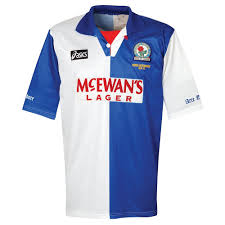 Blackburn rovers /ˈblækbɜːrn ˈroʊvərz/ are a south african professional football club from east london, eastern cape who play in the national first division. Asics Blackburn Rovers 1995 1996 Home Shirt Used Condition Good Premier League Champions Embroidery Size M