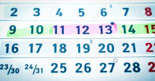 Pregnancy Callendar Calendar Pregnancy Planning Dangerous And Safe Days