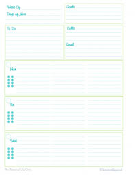 Weekly To Do Calendar Template Weekly Planner Printables Personal Planner