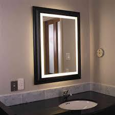 Bathroom Lighting Cool Lighted Bathroom Wall Mirror Design Vanity for  sizing 1000 X 1000