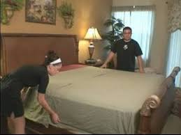 a bed how to put flat sheets on beds