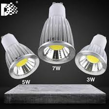 2018 High Power Led Lamp 7w 9w Gu10 Mr16 Light Bulb Reflector Ceiling Lights Lamp Lighting 85 265 V High End Low Voltage Drive