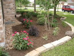 texas flower bed landscaping backyard bedroommagnificent lush landscaping ideas