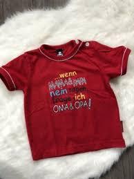 Trigema T Shirt Rot Spruch Lustig Mama Papa Oma Opa Gr 80 In
