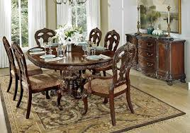 attractive dining table set traditional park traditional round dining table set