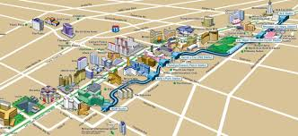 monorail las vegas map  lv monorail map (united states of america)