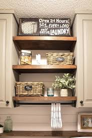 farmhouse style laundry room makeover for under 100 12