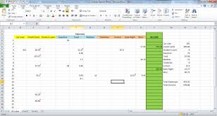 how to make a sheet in excel how to make an expense sheet in excel rainy day saving