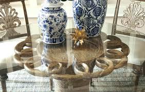 glass top pedestal table glass top pedestal dining table inch round dining table with glass top