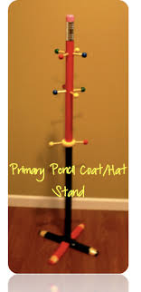 Pencil Coat Rack Pencil Coat Hook From Crayons Lesson Plans Teacher Blog 24