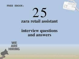 Retail Interview Questions Extraordinary Top 48 Zara Retail Assistant Interview Questions And Answers Pdf Eboo