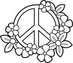 Small Picture Peace and Love Coloring Pages My PEACE SIGN art Coloring Books