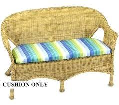 outdoor settee cushion settee cushion outdoor wicker settee cushion sets outdoor wicker lounge replacement cushions