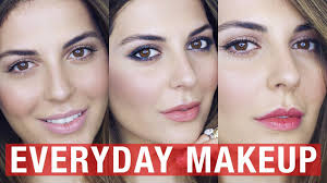 3 easy everyday makeup looks under 5 minutes i affordable