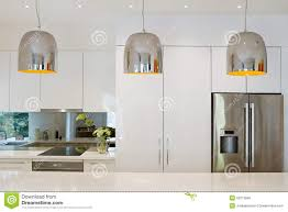 Pendant Lighting Over Kitchen Island Contemporary Pendant Lights Hanging Over Kitchen Island Stock
