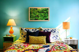 Amazing Colorful Master Bedroom Designs