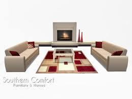Cream furniture living room Modern Living Room Modern Cream And Red Southern Comfort Furniture Second Life Marketplace Second Life Marketplace Living Room Modern Cream And Red