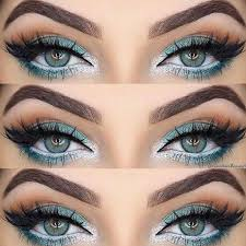 ideas of eye makeup for blue eyes picture1