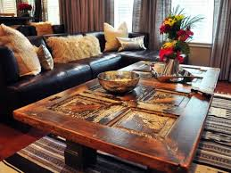 diy wood living room furniture. Unique Room Living Room With A Worn Texture DIY Mbel  Old Doors Reuse  Wooden Furniture And Diy Wood Living Room Furniture