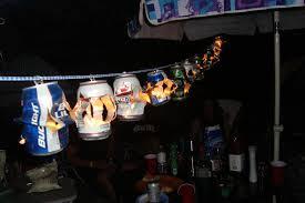 Beer can tea lights ...