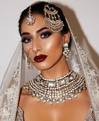 thanks for the glamorous make up by noori luxe we love the deep red lip repost makeup mua london uk bridal glam asian bride