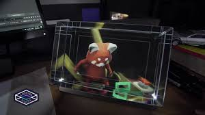 interactive holographic display