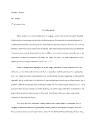poem essay examples poetry analysis sample curriculum   poem essay examples 8