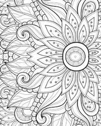 Small Picture 15 CRAZY Busy Coloring Pages for Adults Page 6 of 16 Crazy