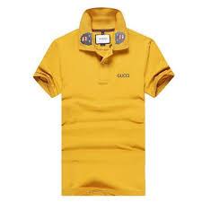 gucci yellow shirt. gucci panther embroidered polo t-shirt - yellow shirt e