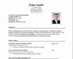 Official Resume Format Gorgeous Download Formal Resume Format Sample DiplomaticRegatta