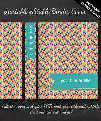 Free Editable Binder Covers And Spines Best Photos Of Editable Binder Covers And Spines Student