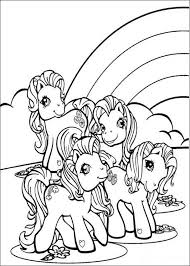 ponies and rainbow coloring page we have selected this ponies and rainbow coloring page to offer you nice my little pony coloring pages to print out and