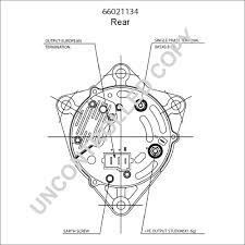 66021134 alternator product details prestolite leece neville Prestolite Alternator Wiring Diagram 66021134 rear dim drawing prestolite marine alternator wiring diagram