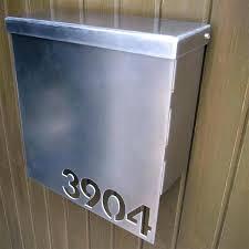 modern wall mounted mailbox modern wall mount mailbox modern design wall mounted mailboxes stainless steel exterior