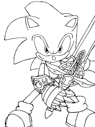 Sonic The Hedgehog Coloring Pages Printable 488websitedesigncom