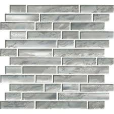 Kitchen With Glass Tile Backsplash Best Glass Mosaic Tile Tile The Home Depot