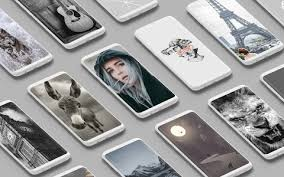grey wallpaper apk android