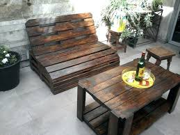 pallet lawn furniture image of outdoor made from pallets design garden plans58 pallets