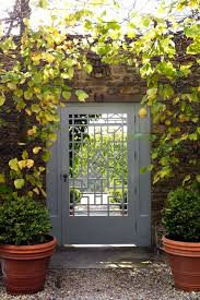 Small Picture Geometric Garden Gate English Gardens Design Landscaping